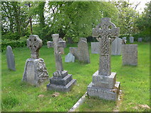 SS6138 : St Michael & All Angels church, Loxhore: churchyard (viii) by Basher Eyre