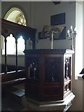 SS6138 : Inside St Michael & All Angels church, Loxhore (F) by Basher Eyre