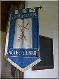 SS6138 : St Michael & All Angels church: Mothers' Union banner by Basher Eyre