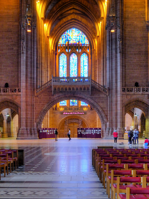 Liverpool Cathedral, The Great Space and Dulverton Bridge