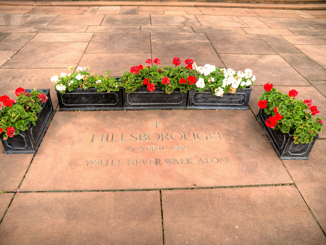 Liverpool Cathedral, Hillsborough Tribute