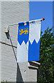 SO8832 : Banner of Sir Richard Croft, Tewkesbury by Julian P Guffogg