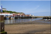 NZ8911 : Whitby lower (outer) harbour by David Smith