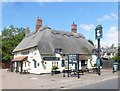 """TL1936 : """"The White Horse"""" public house, Arlesey by Julian Osley"""