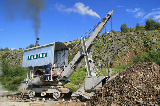 Threlkeld Quarry & Mining Museum - steam Navvy