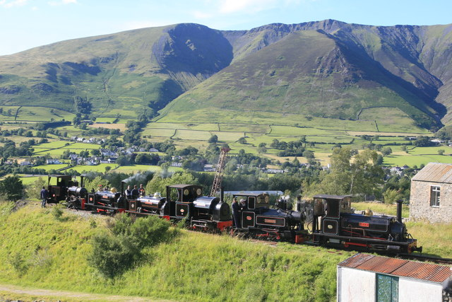 Threlkeld Quarry & Mining Museum - Six visiting locomotives