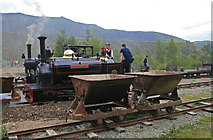 NY3224 : Quarry railway by Chris Allen