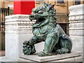 SJ3589 : Lion at the Imperial Arch by David Dixon