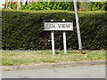TM1369 : Fen View sign by Adrian Cable
