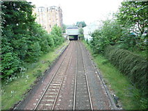 NT2470 : Site of Morningside Road Station (1) by David Hillas