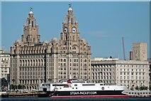 SJ3390 : Manannan, IoM landing stage, Liverpool by El Pollock