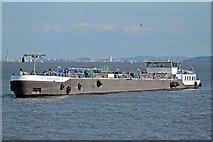 SJ3290 : Mersey Endurance, River Mersey by El Pollock
