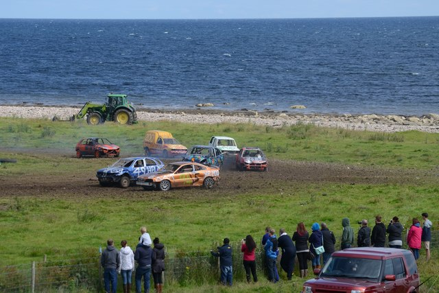 Demolition Derby on the East Coast of Scotland