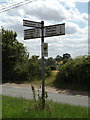TM1170 : Roadsign on Stoke Road by Adrian Cable