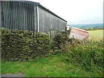 SE0322 : Stile on Sowerby Bridge FP115 (Link C) by Humphrey Bolton