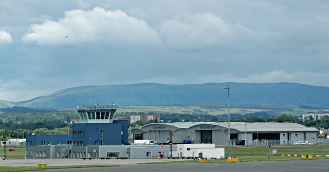 Gama Aviation hangars at Glasgow Airport