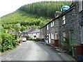 SH7507 : Houses in Abercorris, Corris by Christine Johnstone