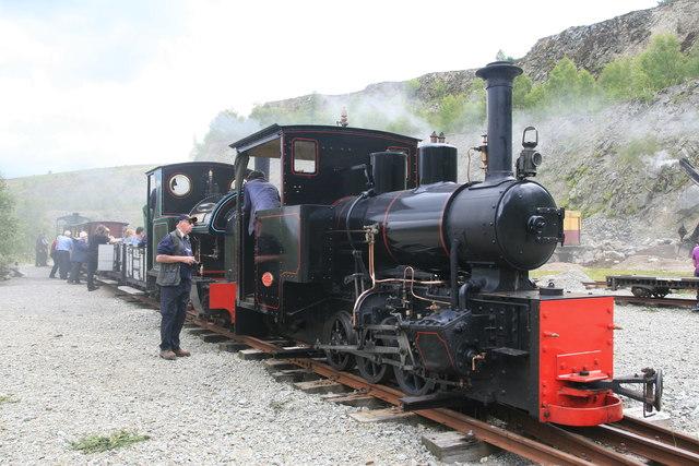 Threlkeld Quarry & Mine Museum - passenger train