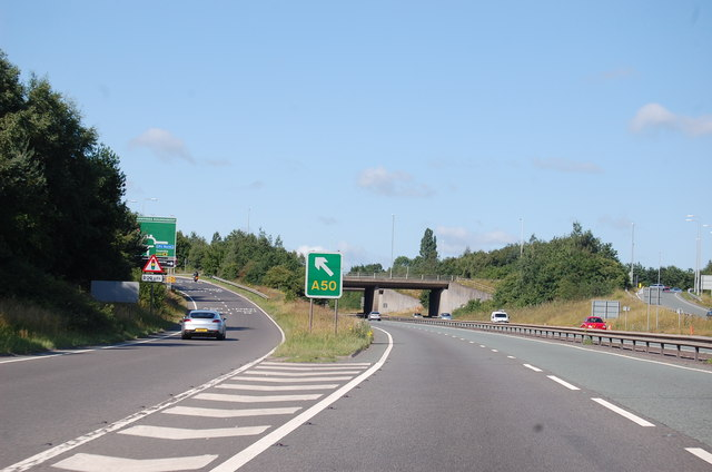 A46 junction for A50