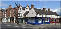 SK3436 : Derby - Ashbourne Road - junction with Brick Street by Dave Bevis