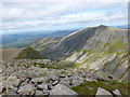 NH9601 : Lurcher's Crag view from Sròn na Lairige by Alan O'Dowd