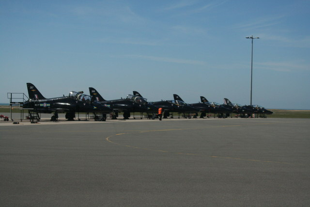 RAF Valley Flightline