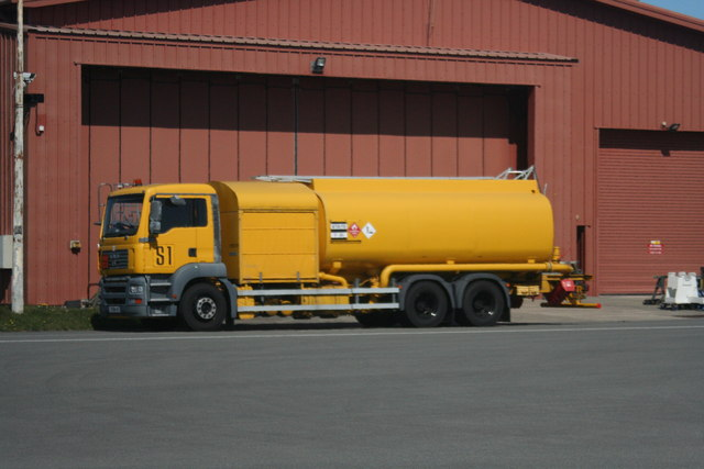 RAF Valley Fuel Truck