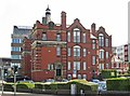 SJ8989 : Stockport - College on Greek Street by Dave Bevis