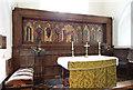 TM1072 : St Mary, Thornham Parva - Sanctuary by John Salmon