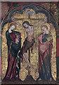 TM1072 : St Mary, Thornham Parva - Reredos detail by John Salmon