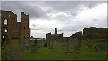 NU1241 : Lindisfarne Priory by Steven Haslington
