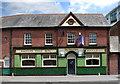SZ0190 : The Swan Inn, Marstons Poole Ales by Des Blenkinsopp