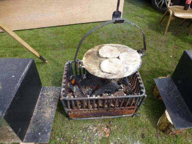 Close-up, Griddle pan, Plumbridge