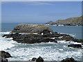 SS2224 : Life Rock by Hartland Quay, Devon by Roger  Kidd