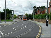 SK5236 : Bus in Chilwell Road again by Alan Murray-Rust