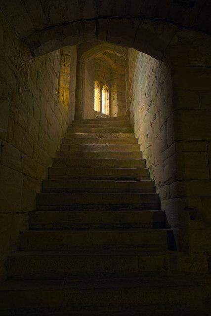 Warkworth Castle Keep - Internal Stairway