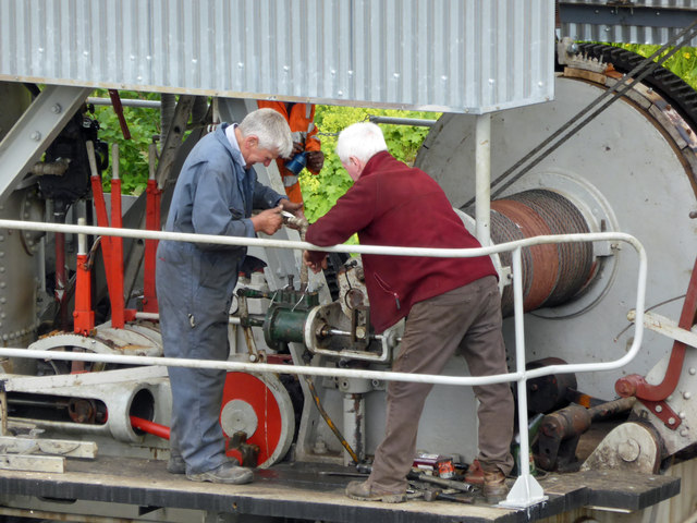 Threlkeld Quarry & Mining Museum - clutch trouble