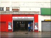 TQ3083 : American Carwash has moved! York Way, King's Cross, London by Robin Stott
