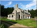 NJ3419 : Abandoned house at Badenyon by Alan O'Dowd