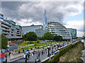 TQ3380 : Potters Fields and  City Hall by Robin Webster