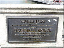 O1534 : O'Connell Bridge [2] by Michael Dibb