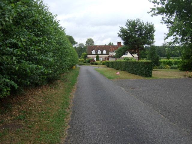 Farm road, Bridgham
