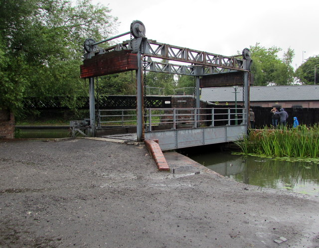 Lifting Bridge in the Black Country Living Museum, Dudley