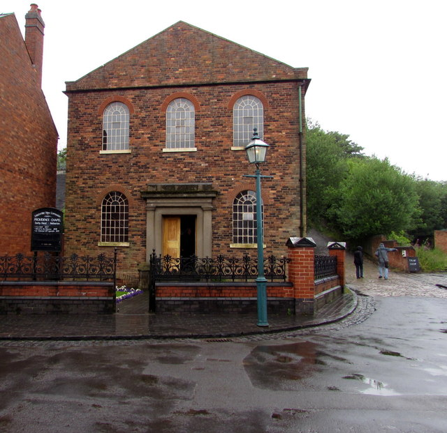 Darby Hand (Providence) Chapel in the Black Country Living Museum, Dudley