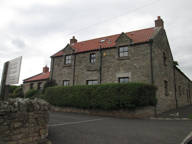 Entrance  to  holiday  cottage  complex  Beal