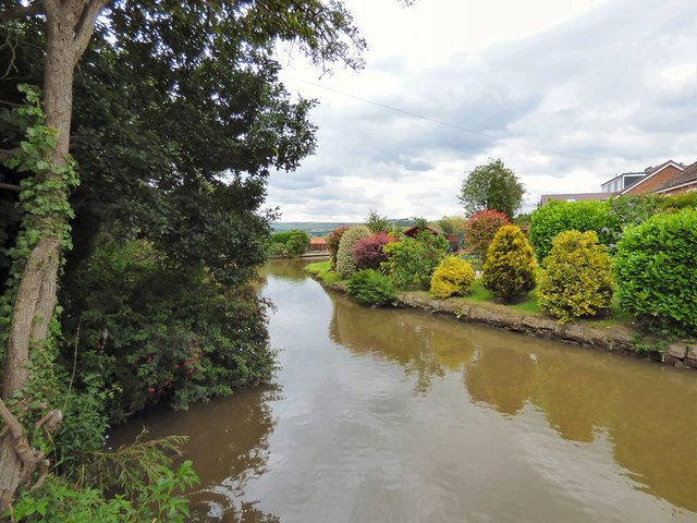 An arm of the Peak Forest Canal
