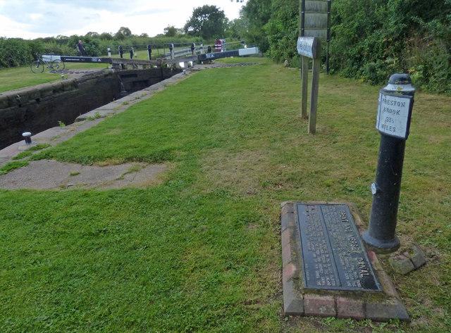 Trent & Mersey Canal Milepost