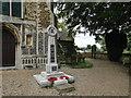 TF6315 : West Winch War Memorial by Adrian S Pye