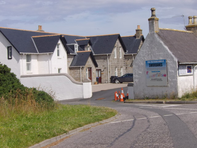 A former hotel at Inverboyndie