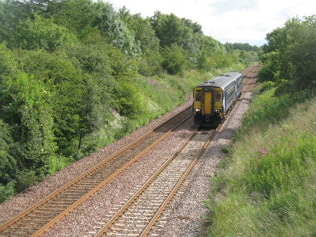 Train for Glasgow by M J Richardson